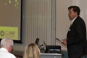 Health and environment professionals inspired by Being well with nature conference