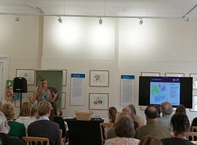 Pollinator work showcased at Bees' Needs Champions event
